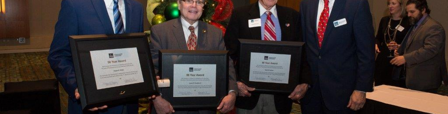 ORTALE KELLEY FOUNDER DAVID HERBERT HONORED AT NBA BANQUET FOR 50 YEARS OF PRACTICING LAW