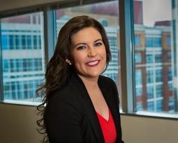 Associate Rachel Hogan speaks to students at Lipscomb University's MediaMasters