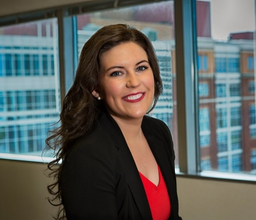 Associate Rachel Hogan speaks at Lipscomb University's MediaMasters