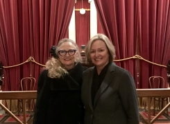Wendy Longmire and Elaine Youngblood Sworn Into SCOTUS