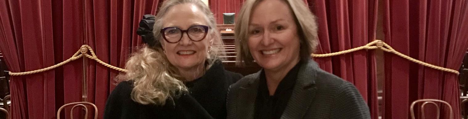 Wendy Longmire and Elaine Youngblood Sworn Into SCOTUS